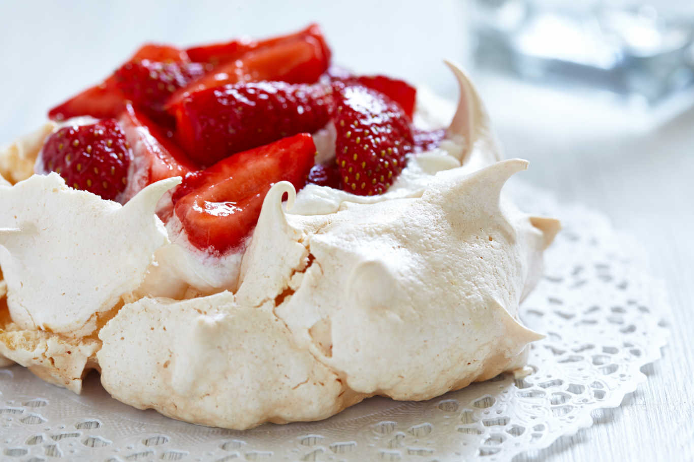 Strawberry Angel Meringue Recipe