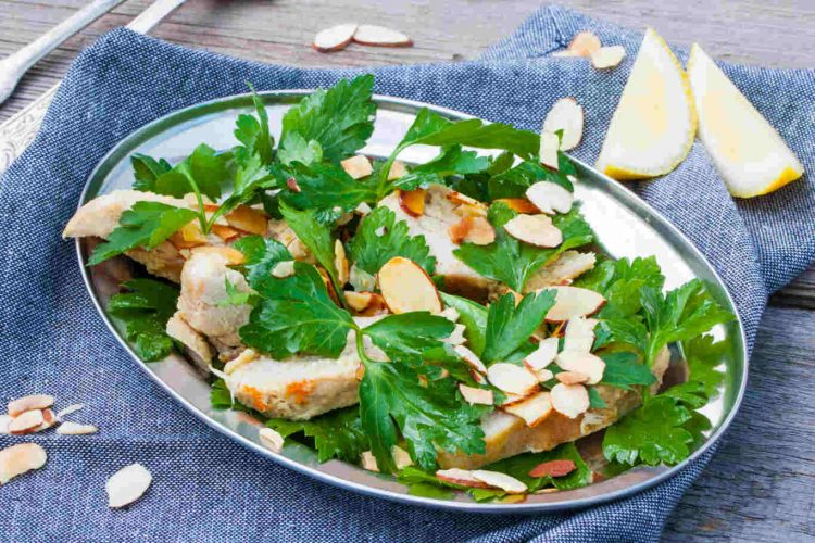 Toasted Almond Chicken