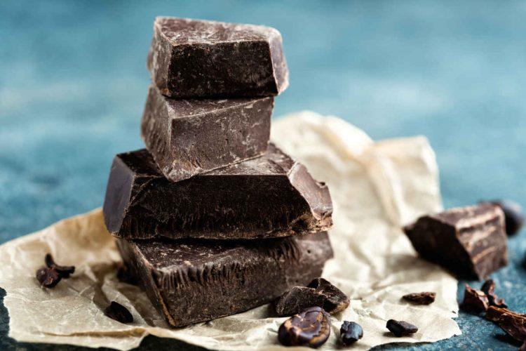 Dark chocolate crushed