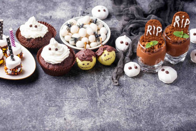 Assortment of Halloween treat