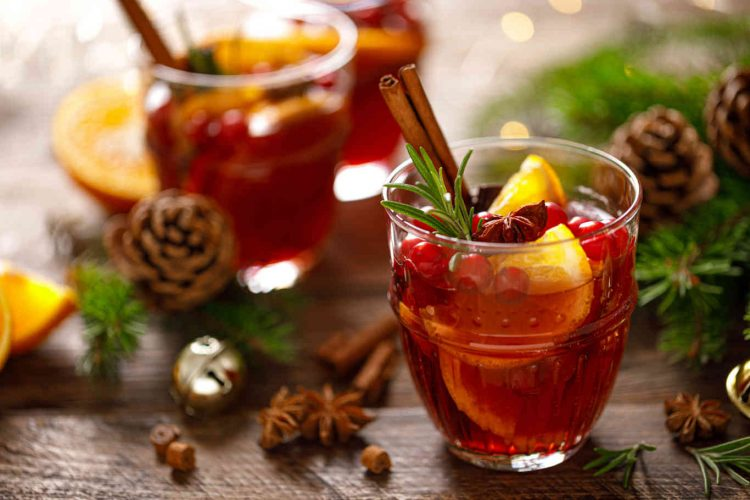 Christmas mulled wine.