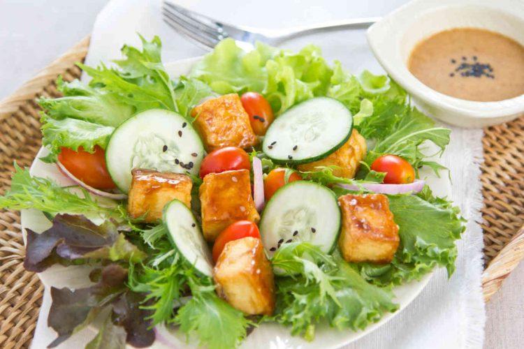 tofu-teriyaki-salad
